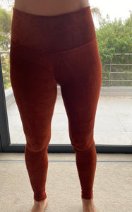 Freda and Dick corduroy legging - Rust
