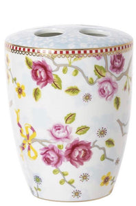 Oilily ceramic toothbrush holder