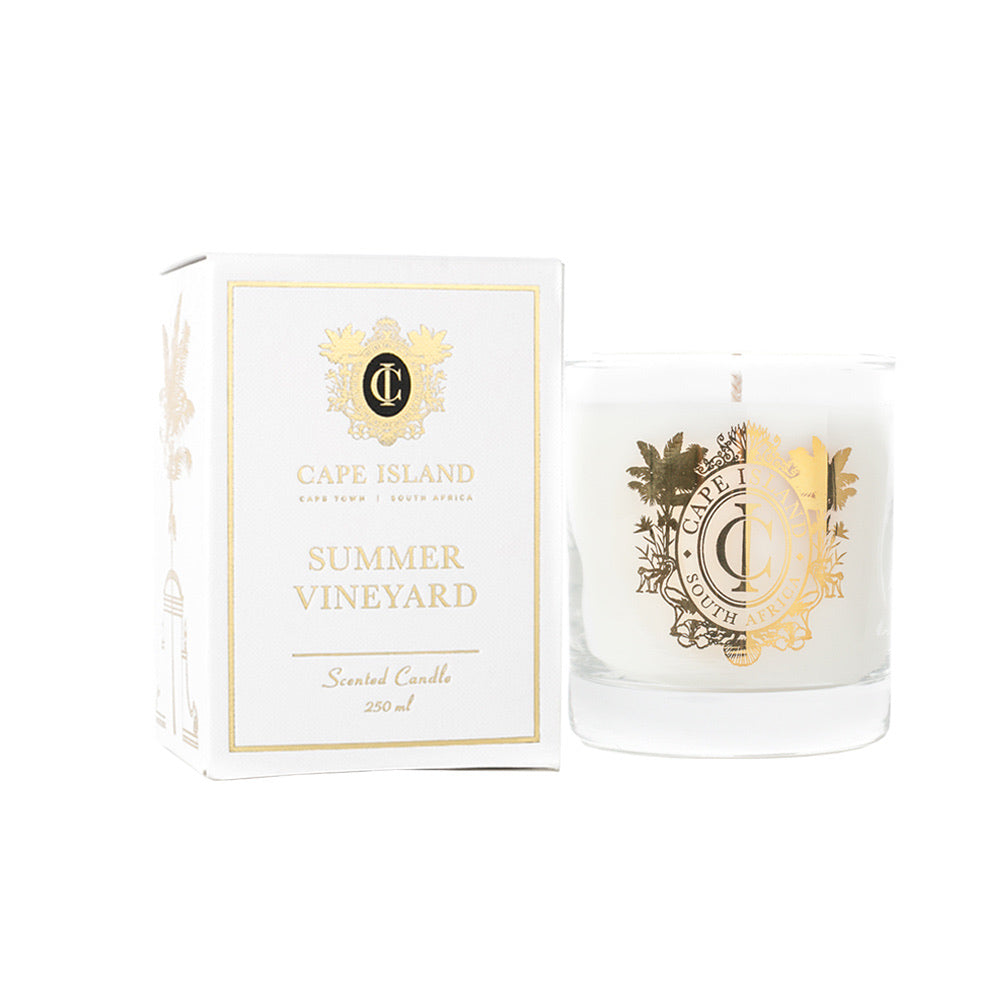 Cape Island classic candle - Summer vineyard