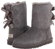 Load image into Gallery viewer, Ugg Bailey Bow - Grey