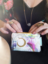 Load image into Gallery viewer, Papaya coin purse - brushstrokes