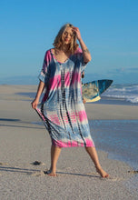 Load image into Gallery viewer, Freda and Dick tunic dress - Pastel tie dye