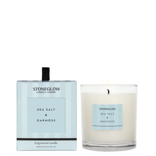 Stoneglow Modern Classics Candle - sea salt and oak moss