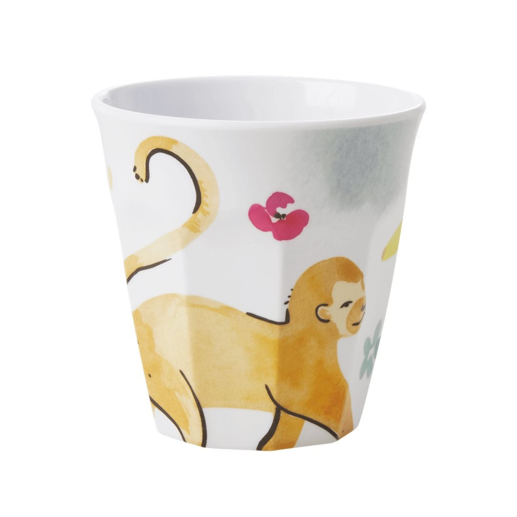 Rice - melamine medium cup monkey