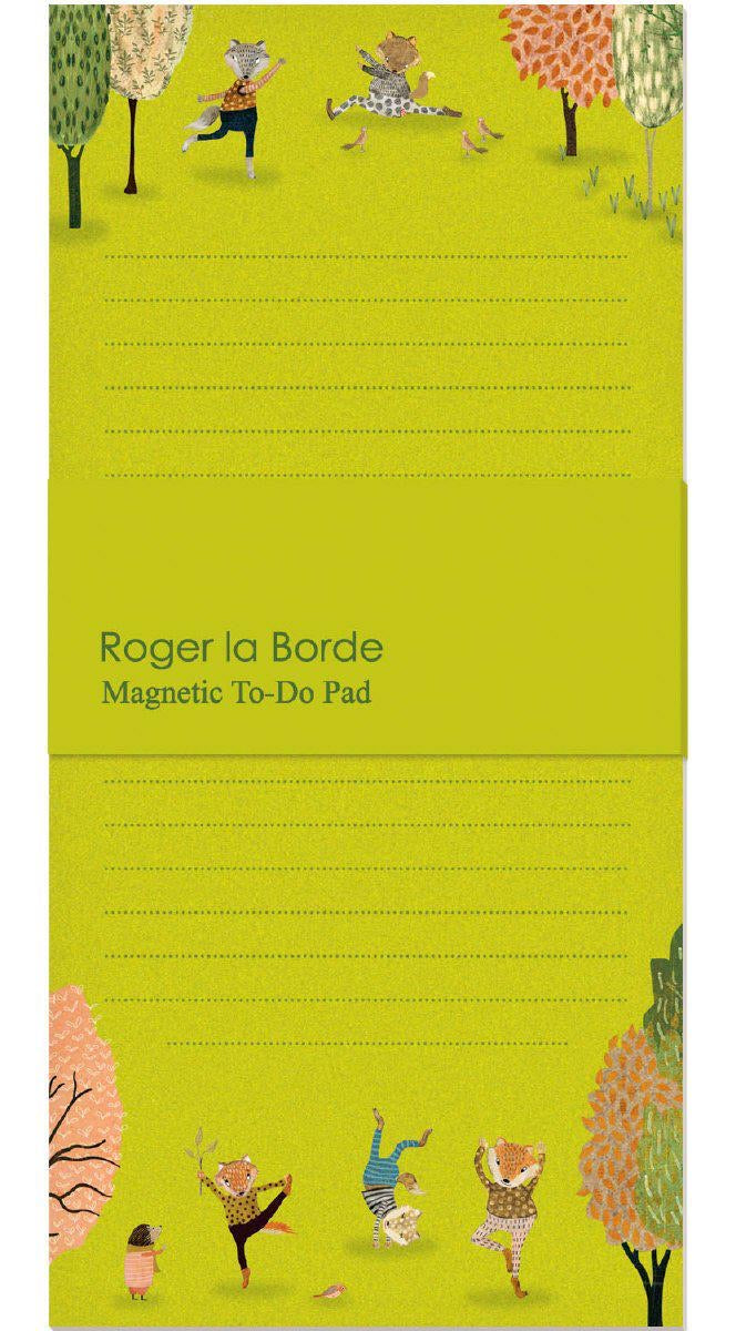 RLB Magnetic to-do pad - Yoga in the Park