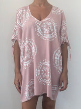 Load image into Gallery viewer, Freda and Dick tie dye tunic - pink
