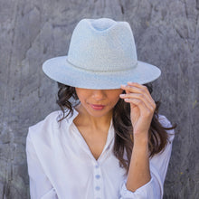 Load image into Gallery viewer, Emthunzini Avoca Fedora hat- soft pastel mint