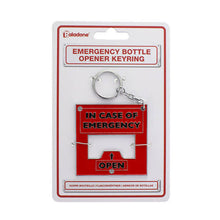 Load image into Gallery viewer, Aladone emergency bottle opener keyring