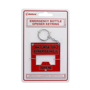 Aladone emergency bottle opener keyring