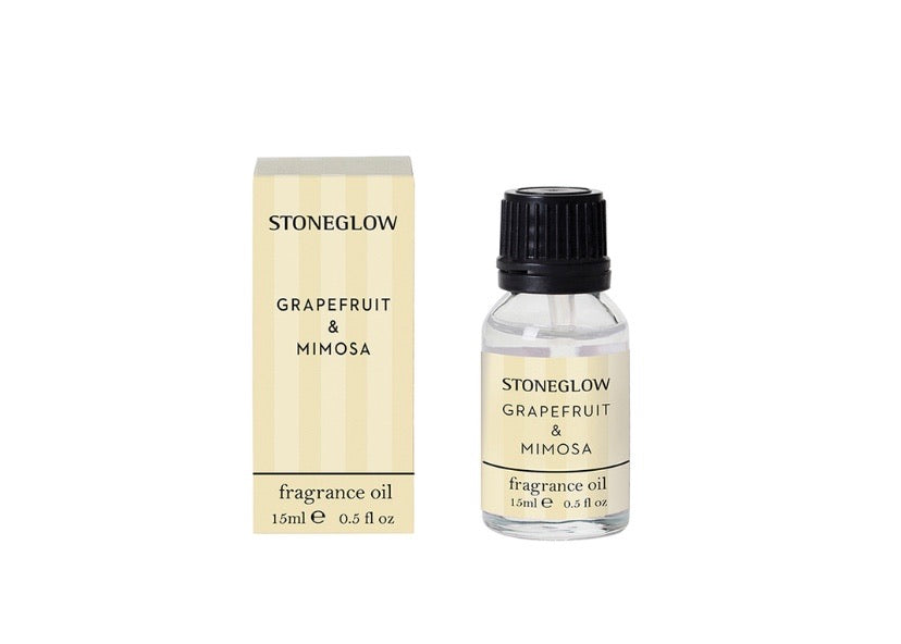 Stoneglow Modern Classics NEW - Grapefruit & Mimosa 15ml Fragrance Oil