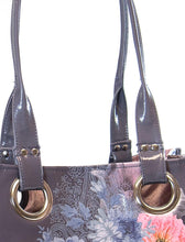 Load image into Gallery viewer, Papaya luxe tote - hamsa hand