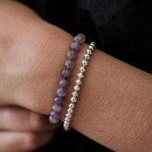 Load image into Gallery viewer, Stone bracelet - Amethyst