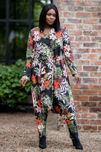 Load image into Gallery viewer, Mastik collared jumpsuit - Jungle print