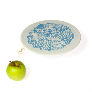 Halo Dish and Bowl Cover Large Beach House | Miro van der Vloed