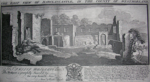Hartley Castle, home of the de Harcla family and then the Musgraves