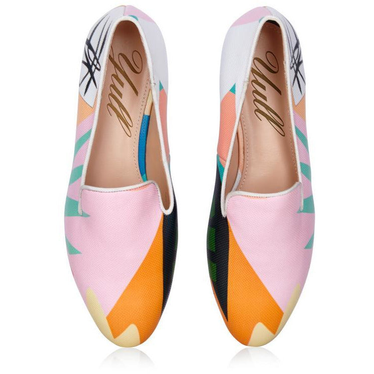 Burlington Paradise Loafer in Colourful Print - croftonandhall