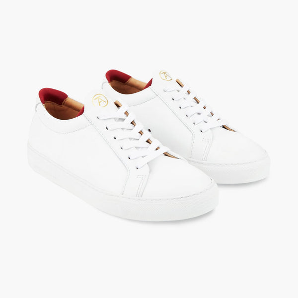 Original 172 White/Red Sneakers - croftonandhall