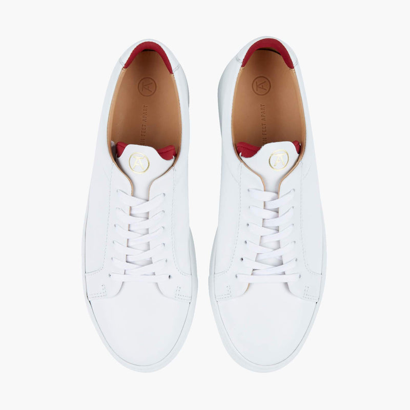 Original 172 White/Red Sneaker - croftonandhall
