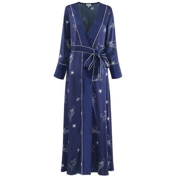 Micah Rani Silk Wrap Dress - croftonandhall