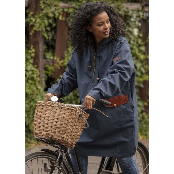 Water Resistant Smock in Navy - Oversized - croftonandhall