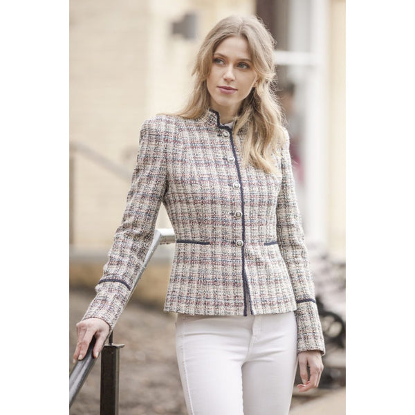 Romana Fitted Jacket - croftonandhall