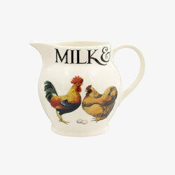 Rise & Shine 1/2 Pint Milk Jug - Crofton & Hall