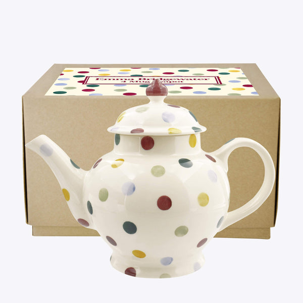 Polka Dot 4 Mug Teapot - Crofton & Hall