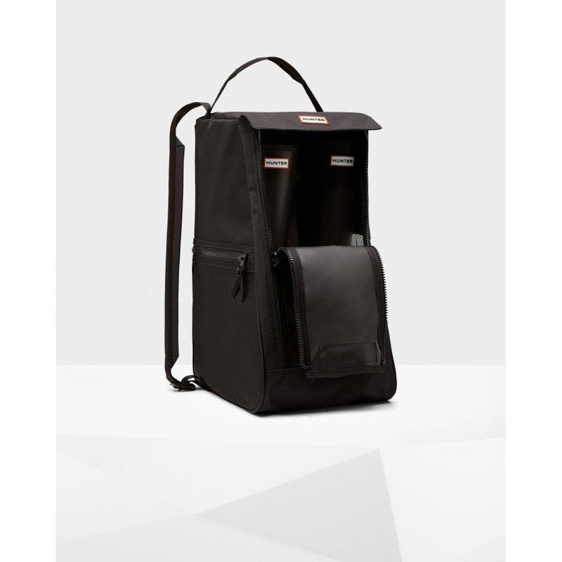 Original Tall Boot Bag in Black - croftonandhall