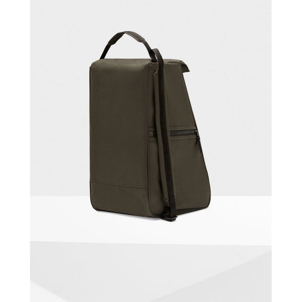 Original Tall Boot Bag in Dark Olive - croftonandhall