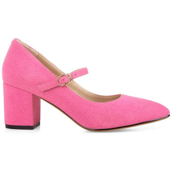 Bath Raspberry Heeled Shoe - croftonandhall