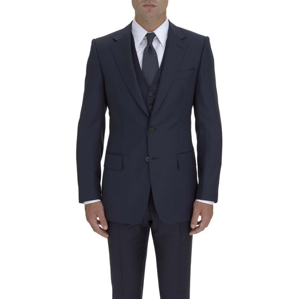 Classic Navy Suit Jacket - croftonandhall