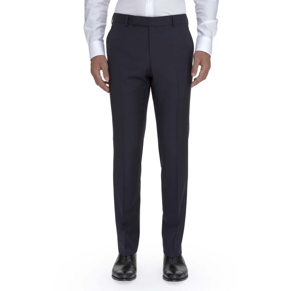Classic Navy Suit Trouser - croftonandhall