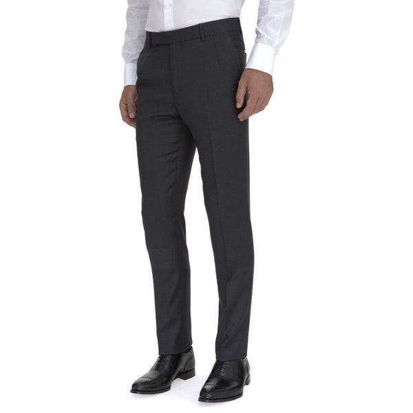 Classic Charcoal Suit Trouser - croftonandhall