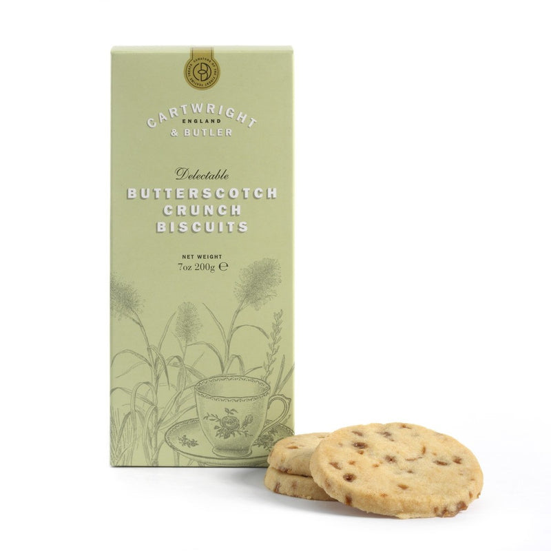 Butterscotch Crunch Biscuits Carton - croftonandhall