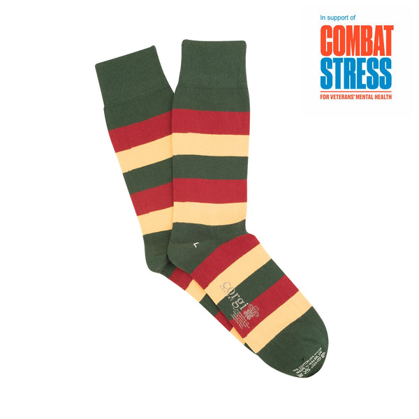 Mercian Regimental Cotton Socks - croftonandhall