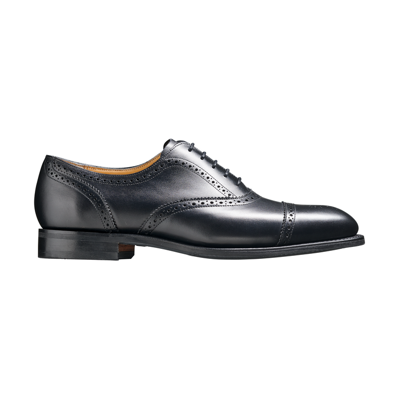 St Ives in Black Calf Leather - croftonandhall
