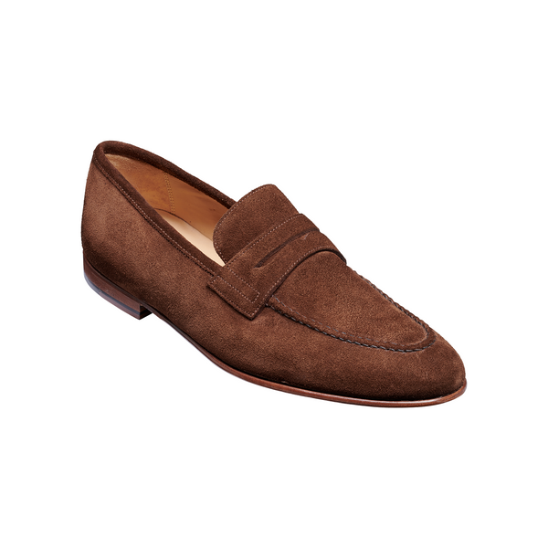 Ledley Loafer in Castagnia Suede - croftonandhall