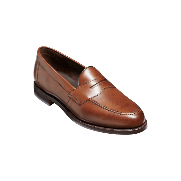 Portsmouth Loafer in Dark Walnut Calf - croftonandhall