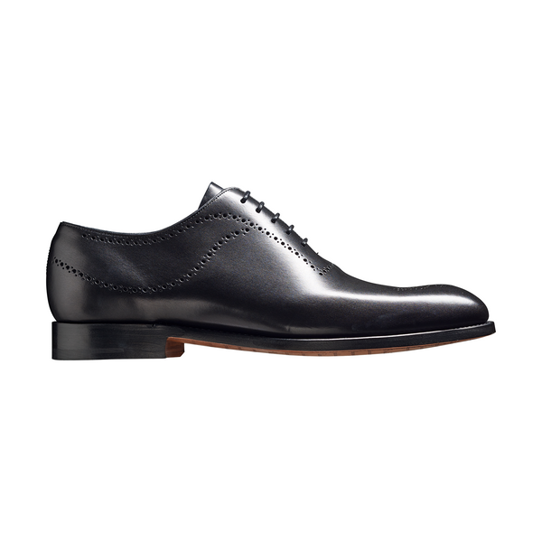 Plymouth Oxford in Black Calf - Crofton & Hall