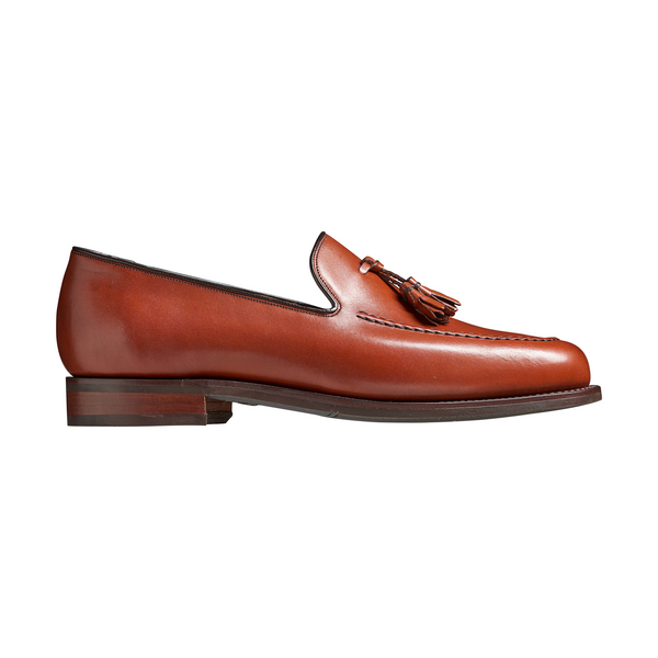Studland Loafer in Rosewood Calf Leather - croftonandhall