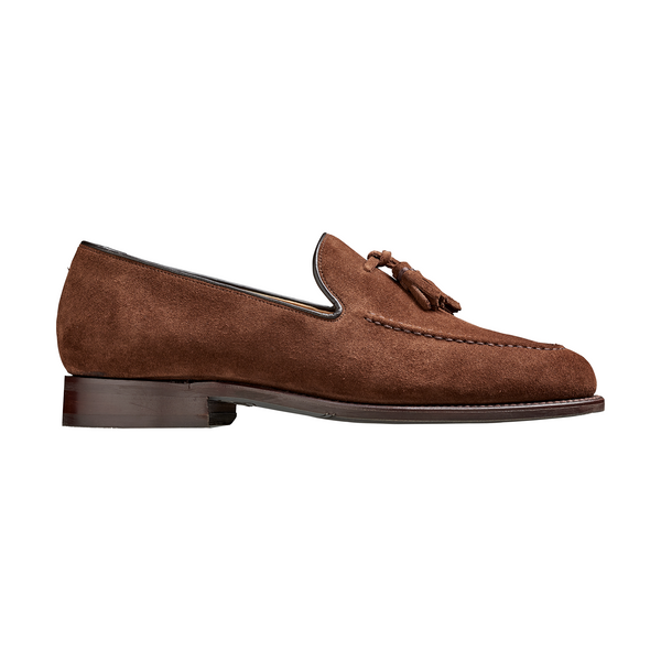 Studland Loafer in Castagnia Suede - croftonandhall