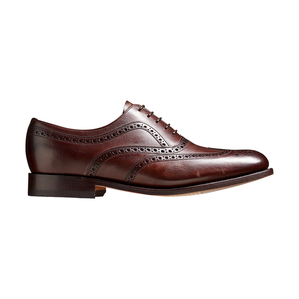 Southport Brogue in Dark Walnut Calf Leather - Crofton & Hall