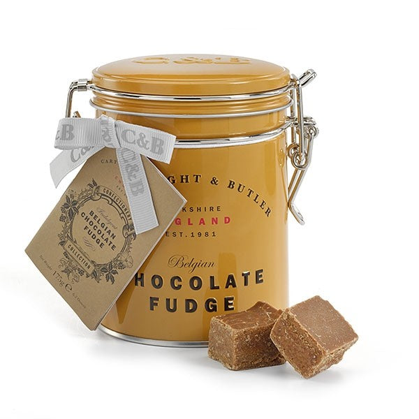 Belgian Chocolate Fudge Tin - croftonandhall