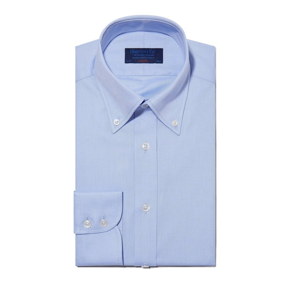 Classic Oxford Button Down Collar Light Blue Shirt - croftonandhall