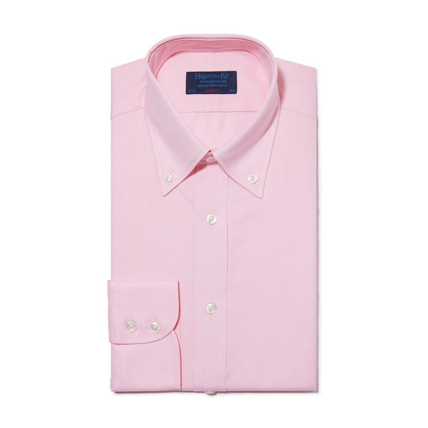 Classic Oxford Button Down Collar Pink Shirt - croftonandhall