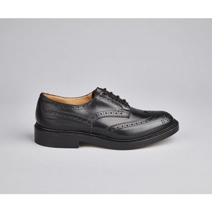 Bourton Country Shoe in Black - Crofton & Hall