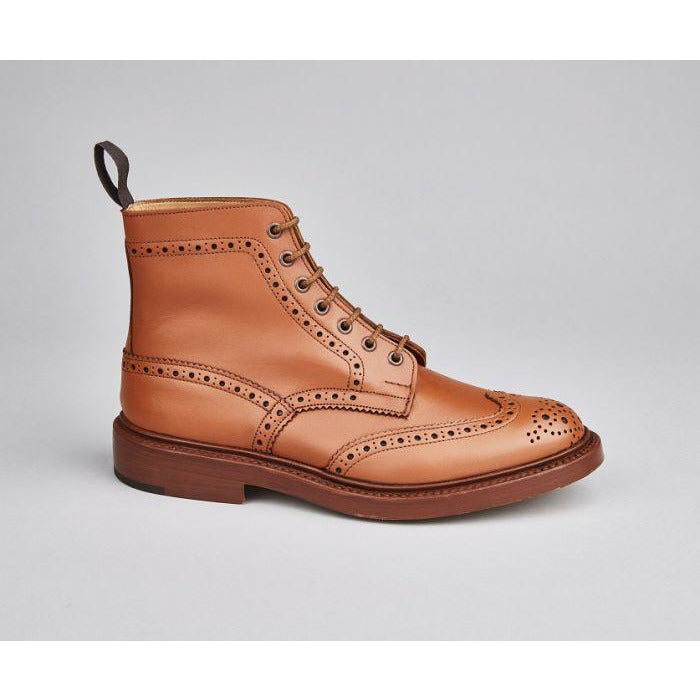 Stow Country Boot in C Shade Tan - croftonandhall