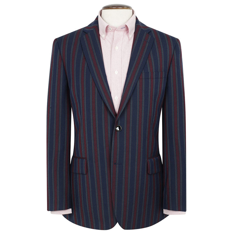 Richmond Striped Blazer - croftonandhall