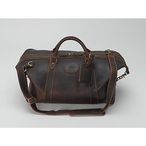 Alexander Weekend Bag in Ultra Soft Leather - croftonandhall