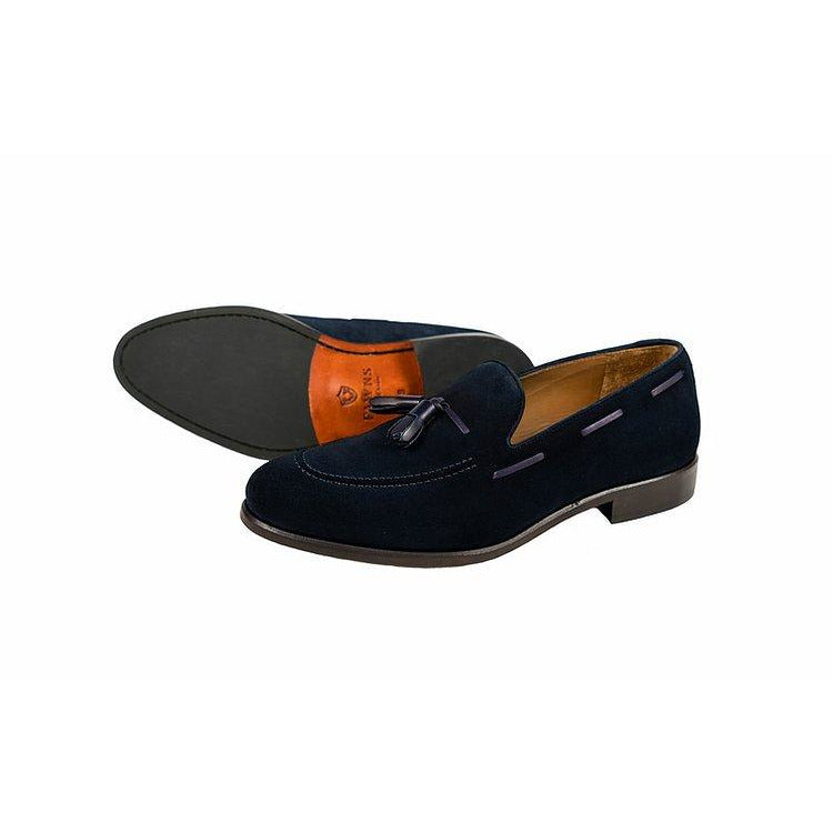 Loch Loafer in Navy Suede - croftonandhall